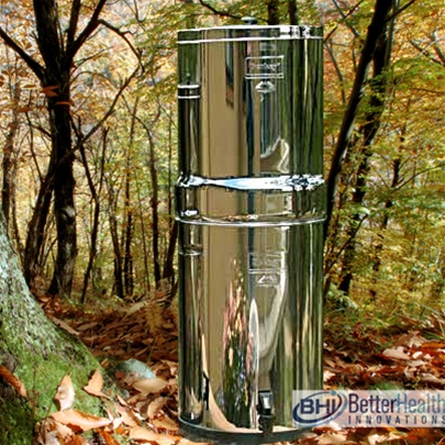 Crown Berkey Stainless Steel Water Purification System