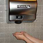 How hygienic are hand dryers?