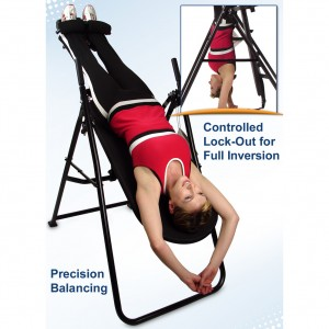 Teeter FitForm Inversion Table in use