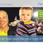IQAIR's Clean Air Team gives Irag war vet a home fit for a hero!