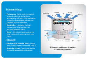 How a Biozone Air Purifier works - AirCare Series